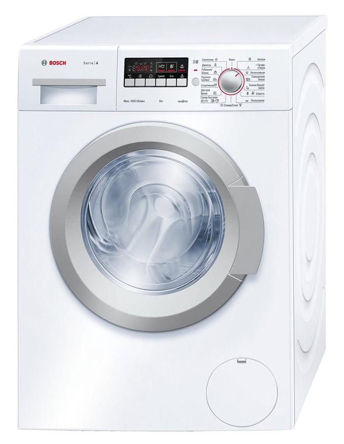 Стиральная машина BOSCH WAK20240OE, фронтальная загрузка,  белый