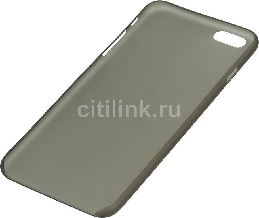 Чехол (клип-кейс) HAMA Ultra Slim, для Apple iPhone 6 Plus, черный [00135136]