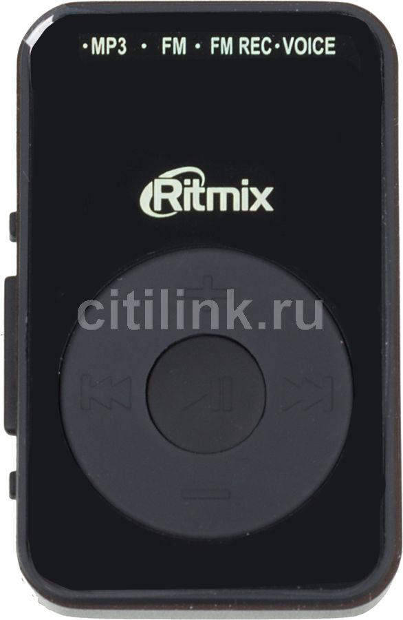 MP3 плеер RITMIX RF-2900 flash 8Гб черный [15116762]