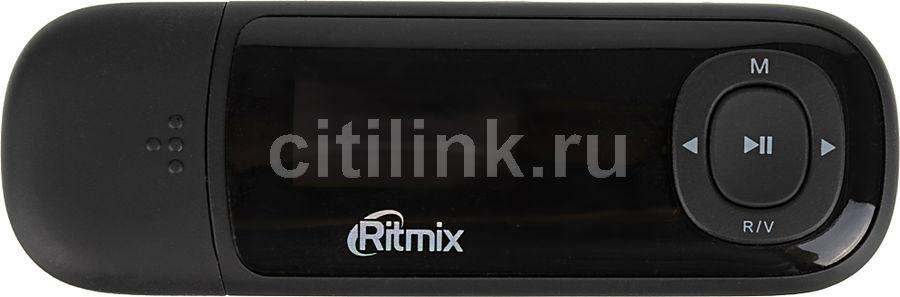 MP3 плеер RITMIX RF-3450 flash 4Гб черный