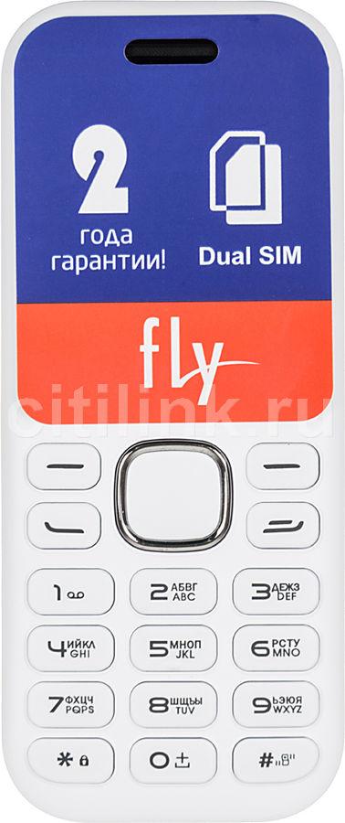 Мобильный телефон FLY DS104D  белый
