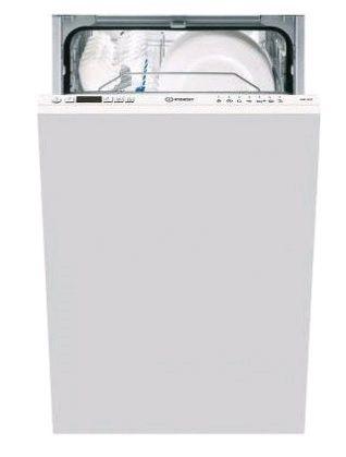 Посудомоечная машина узкая INDESIT DISR 14B EU,  белый