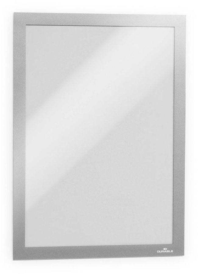 Магнитная рамка DURABLE DURAFRAME 4882-23,  настенная,  прямоугольная,  A4,  236х323 мм,  серебристый