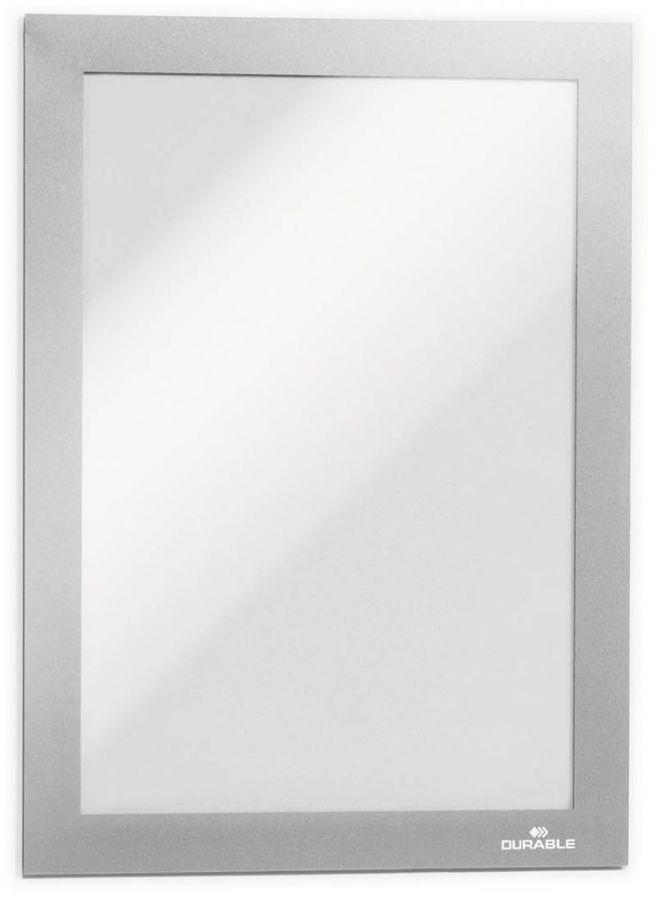 Магнитная рамка DURABLE DURAFRAME 4881-23,  настенная,  прямоугольная,  A5,  236х176 мм,  серебристый
