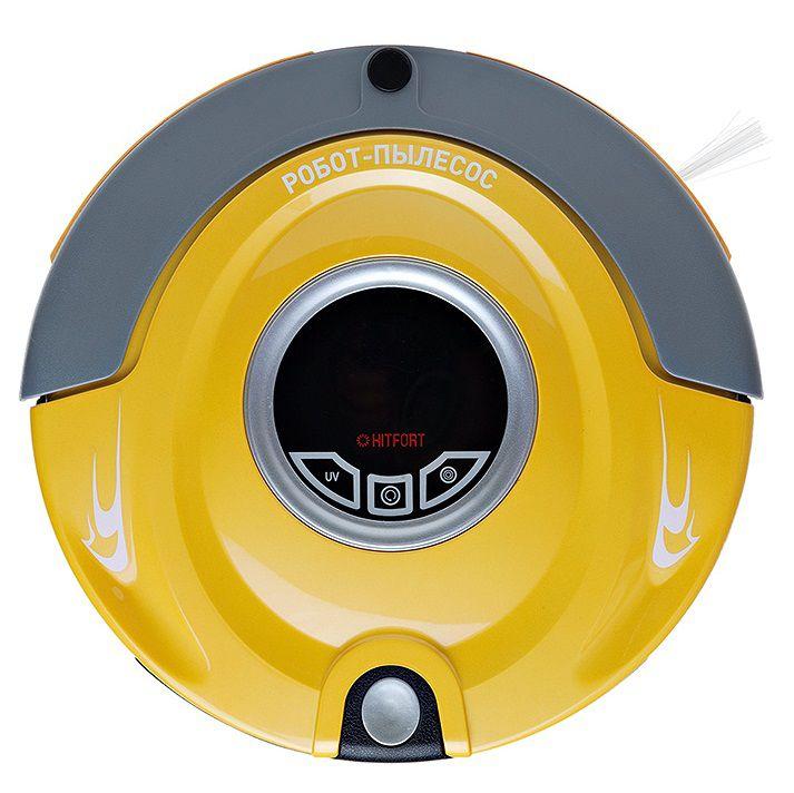 Робот-пылесос KITFORT КТ-501-4, 24Вт, желтый