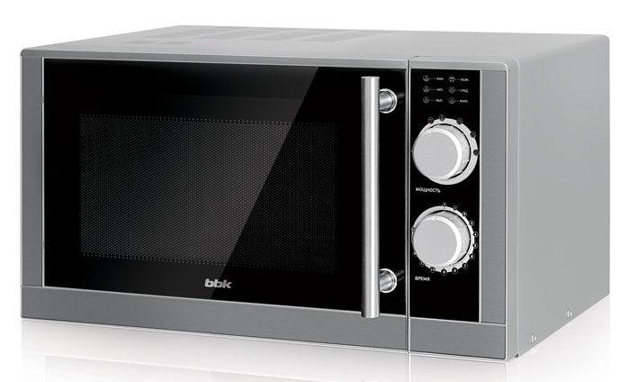Микроволновая печь BBK 23MWS-929M/BX, серебристый