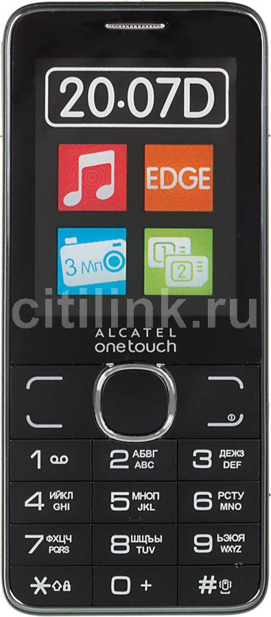 Мобильный телефон ALCATEL OneTouch 2007D,  темно-серый