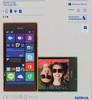 Смартфон NOKIA Lumia 730 Dual Sim зеленый вид 14
