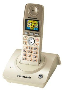 Радиотелефон PANASONIC KX-TG8075RUS,  серебристый