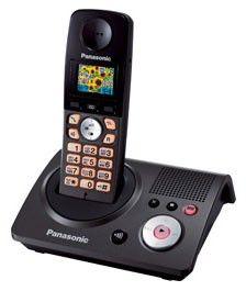 Радиотелефон PANASONIC KX-TG8095RUT,  серый