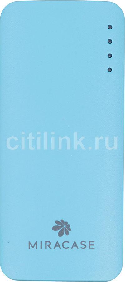 Внешний аккумулятор MIRACASE MACC-818,  5200мAч,  синий