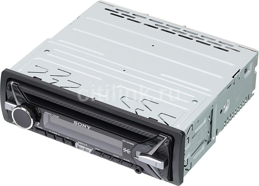 Автомагнитола SONY CDX-G3100UE,  USB