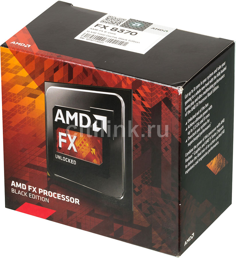 Процессор AMD FX 8370, SocketAM3+ BOX [fd8370frhkbox]