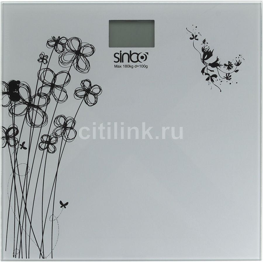 Весы SINBO SBS 4429, до 180кг, цвет: серый