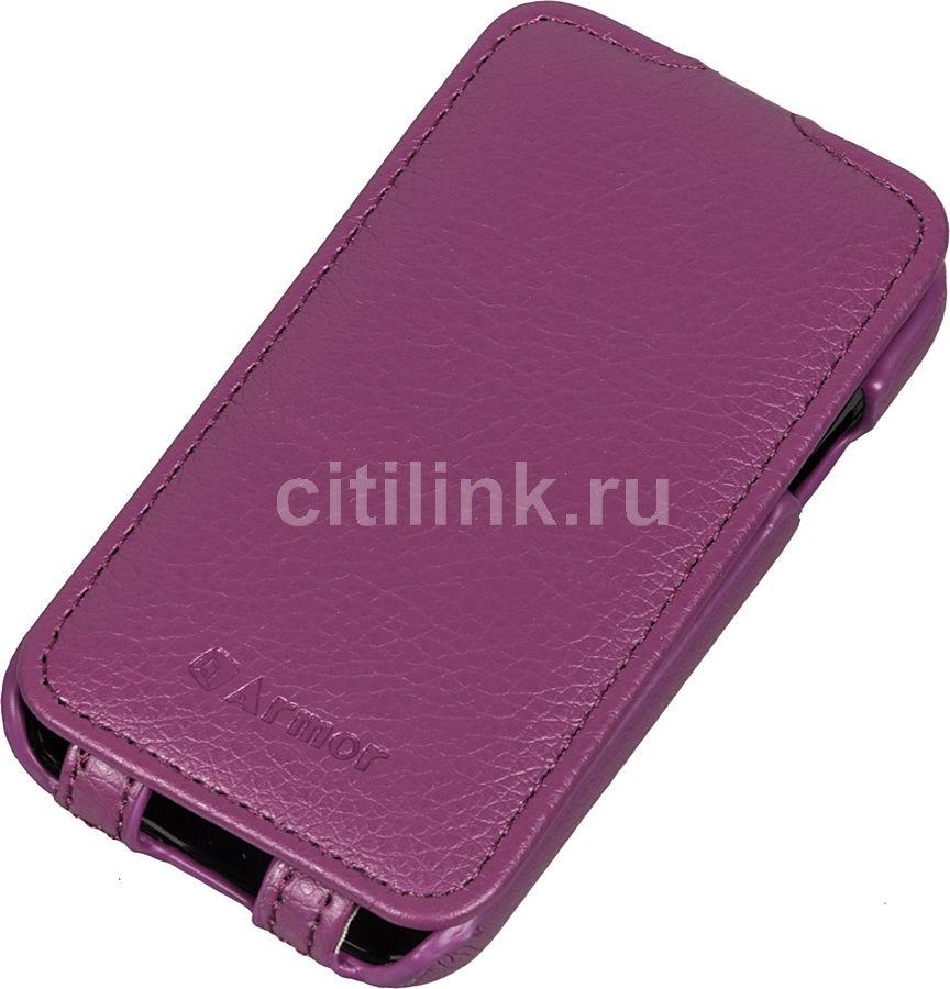 Чехол (флип-кейс) ARMOR-X flip full, для Samsung Galaxy Young 2, пурпурный