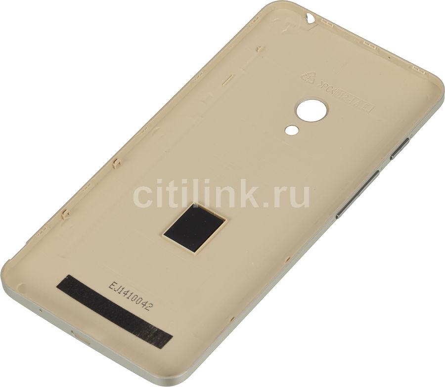 Чехол (клип-кейс) ASUS A500 PF-01 Zen Case, для Asus ZenFone 5 (A500CG/A501CG) ZenFone 5 LTE (A500KL), золотистый [90xb00ra-bsl270]