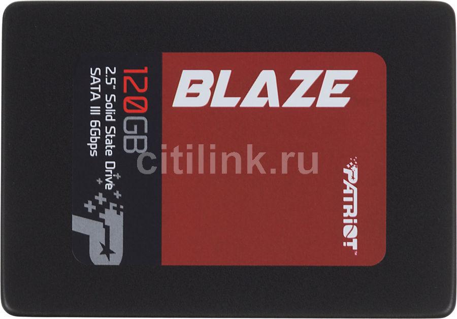 "SSD накопитель PATRIOT Blaze PB120GS25SSDR 120Гб, 2.5"", SATA III"