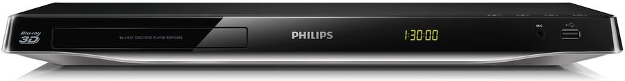 Плеер Blu-ray PHILIPS BDP5500S/51, черный