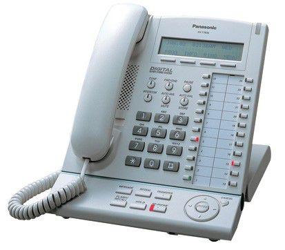 Системный телефон PANASONIC KX-T7630RU-B черный