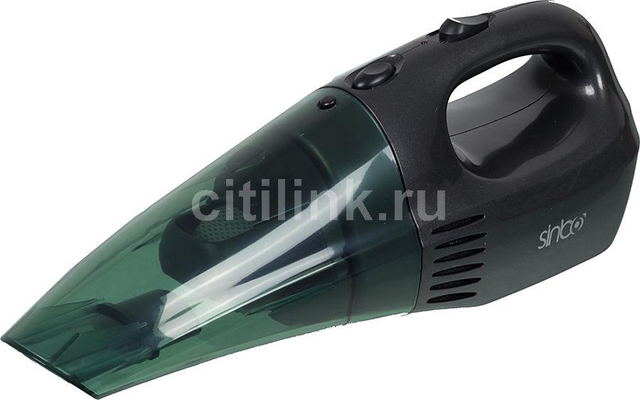 Ручной пылесос SINBO SVC 3455WD, 45Вт, черный/зеленый