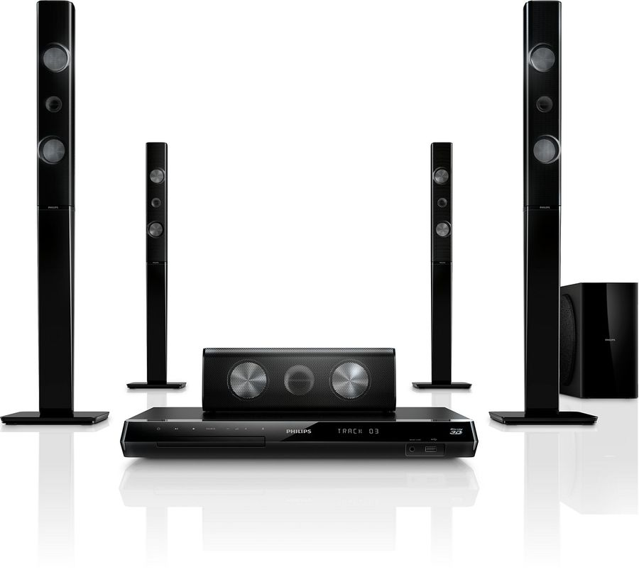 Домашний кинотеатр PHILIPS HTB7590KD/51