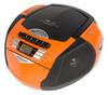 Аудиомагнитола ROLSEN RBM214MUR-OR,  оранжевый и черный вид 1