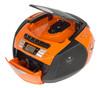 Аудиомагнитола ROLSEN RBM214MUR-OR,  оранжевый и черный вид 2