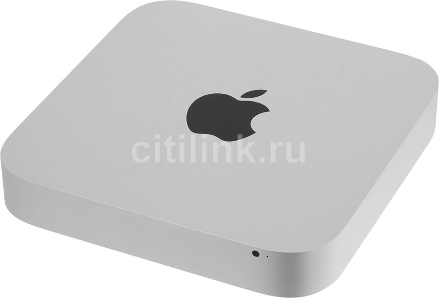 Компьютер APPLE Mac mini MGEQ2RU/A, Intel Core i5 4308U, LPDDR3 8Гб, 1000Гб, Intel Iris Graphics, CR, Mac OS X, серебристый компьютер apple mac mini mgem2ru a
