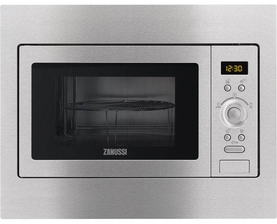Микроволновая Печь Zanussi ZSG25249XA 23л. 900Вт серебристый (встраиваемая)