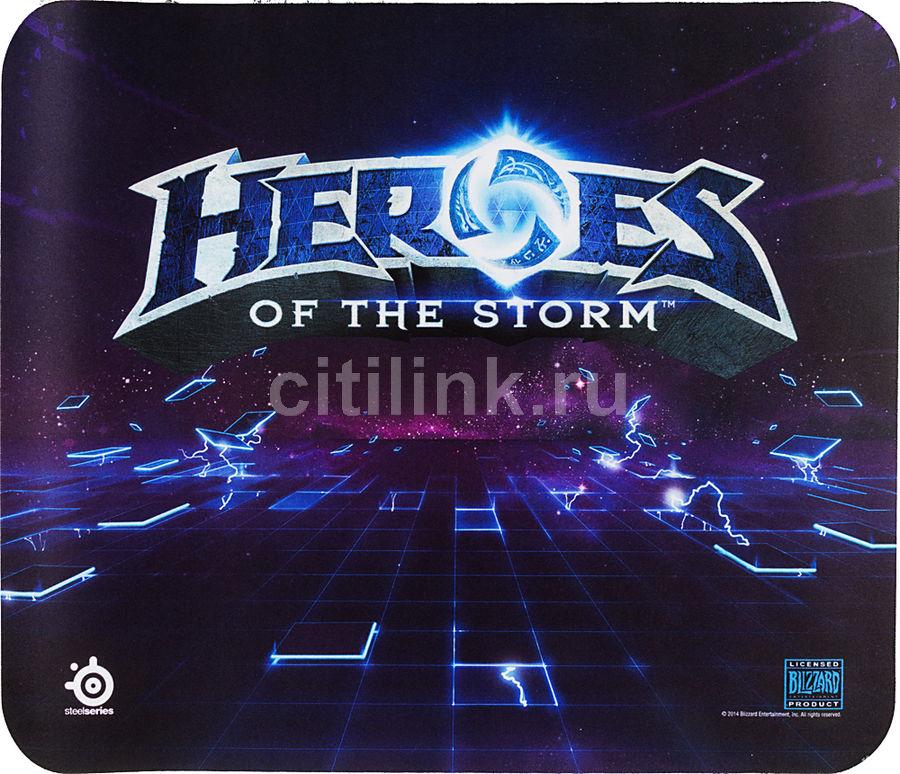 Коврик для мыши STEELSERIES QcK Heroes of the Storm рисунок/синий [63076]