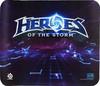 Коврик для мыши STEELSERIES QcK Heroes of the Storm рисунок/синий [63076] вид 1