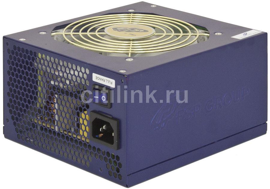Блок питания FSP Everest 80 PLUS 900,  900Вт,  120мм,  синий, retail