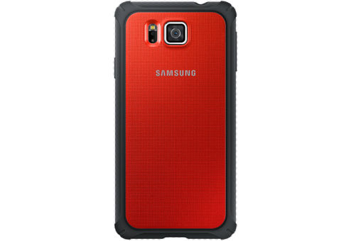 Чехол (клип-кейс) SAMSUNG P.Cover, для Samsung Galaxy Alpha, красный [ef-pg850bregru]
