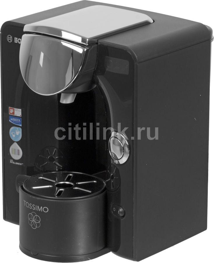 Капсульная кофеварка BOSCH Tassimo TAS5542EE, 1300Вт, цвет: черный