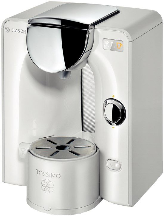 Капсульная кофеварка BOSCH Tassimo TAS5544EE, 1300Вт, цвет: белый