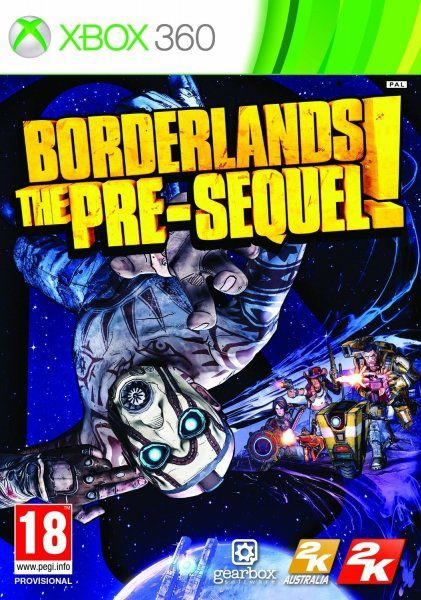 Игра MICROSOFT Borderlands: The Pre-Sequel для  Xbox360 Rus (документация)