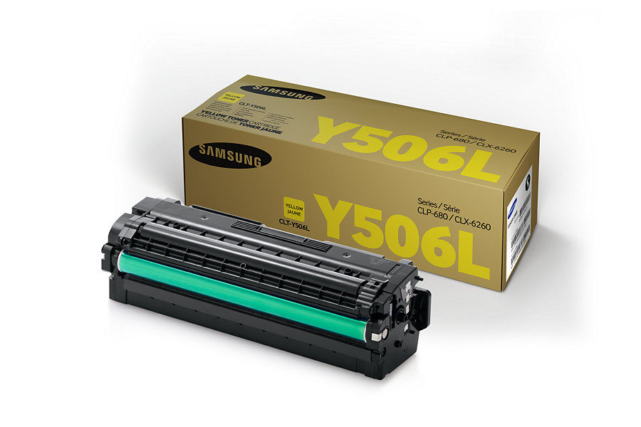 Картридж SAMSUNG CLT-Y506L/SEE желтый