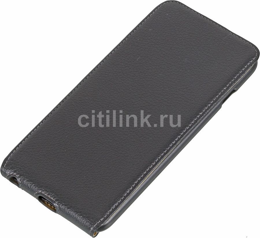 Чехол (флип-кейс) HAMA Smart, для Apple iPhone 6 Plus, черный [135129]