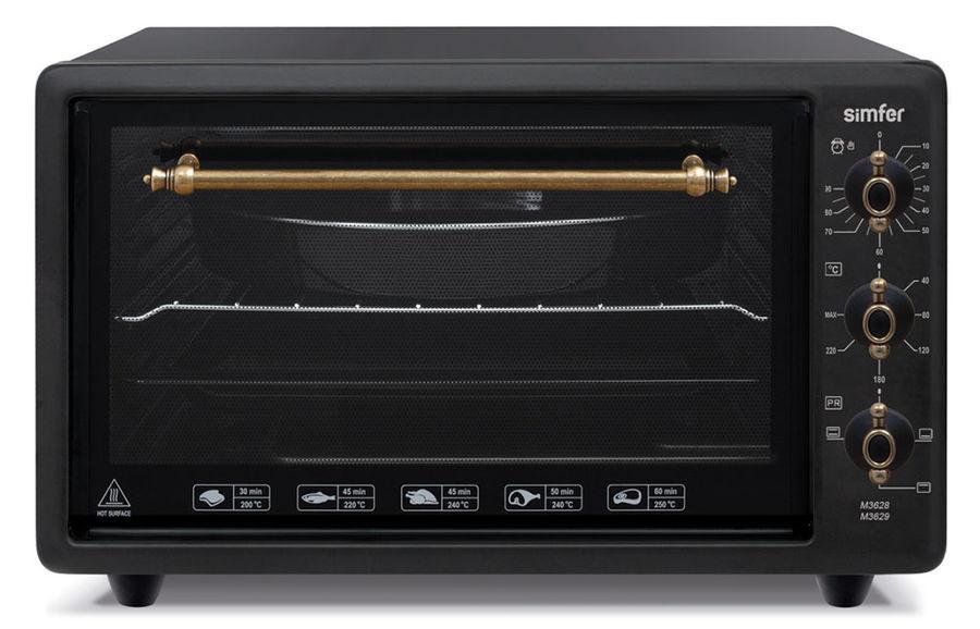 Мини-печь SIMFER M3628,  черный