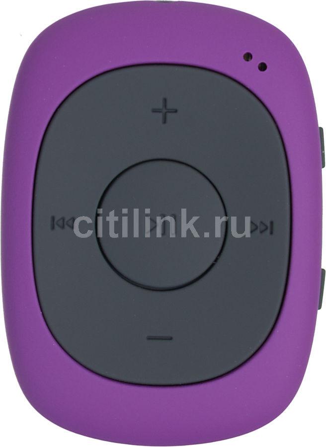MP3 плеер DIGMA C2 flash 8Гб фиолетовый/черный