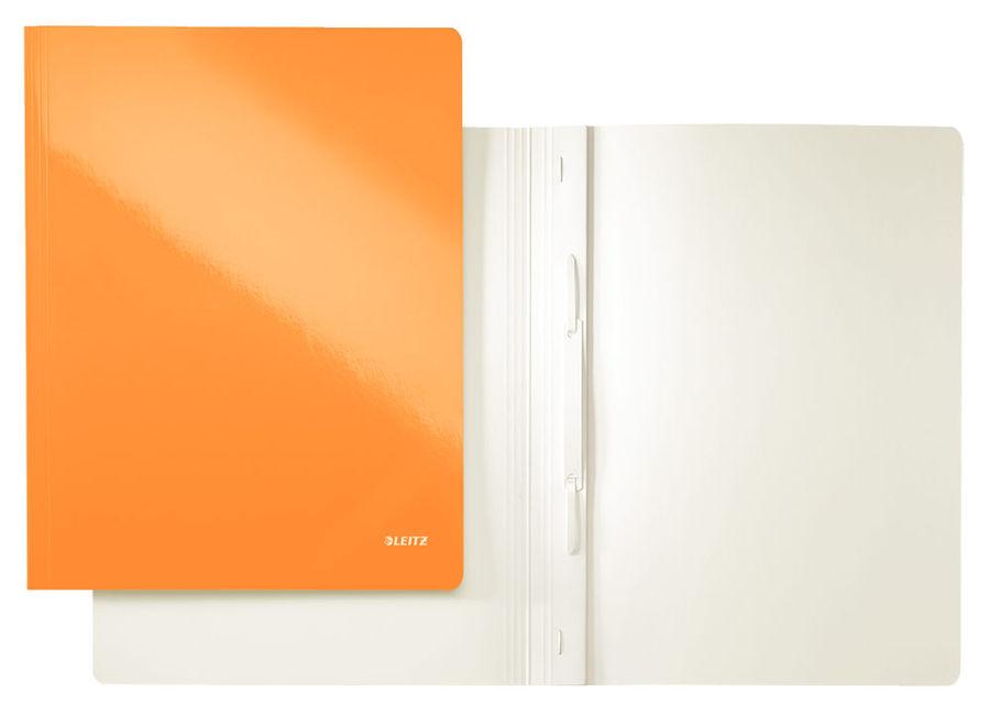 Папка-скоросшиватель Leitz WOW 30010044 A4 оранжевый