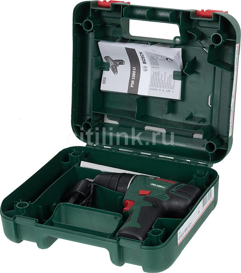 Шуруповерт Bosch PSR 1080 Li 0603985021 - фото 4
