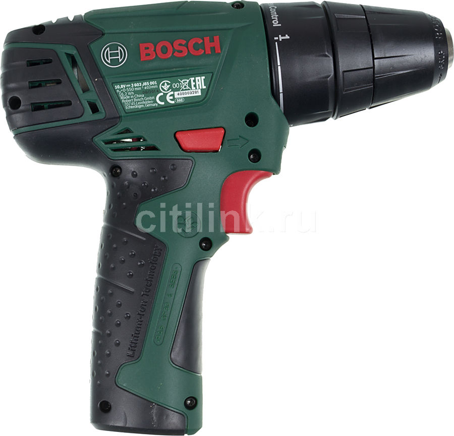 Шуруповерт Bosch PSR 1080 Li 0603985021 - фото 2