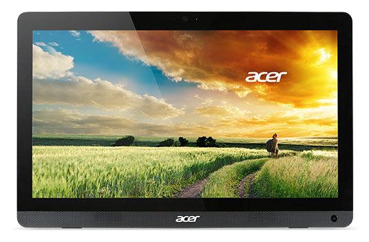 Моноблок ACER Aspire ZC-606, Intel Celeron J1900, 4Гб, 500Гб, DVD-RW, Windows 8.1 [dq.surer.002]