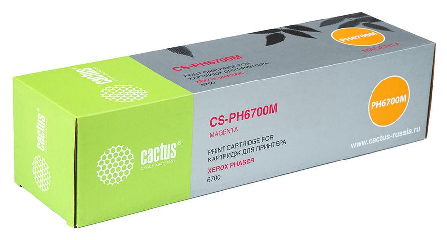 Картридж CACTUS CS-PH6700M пурпурный