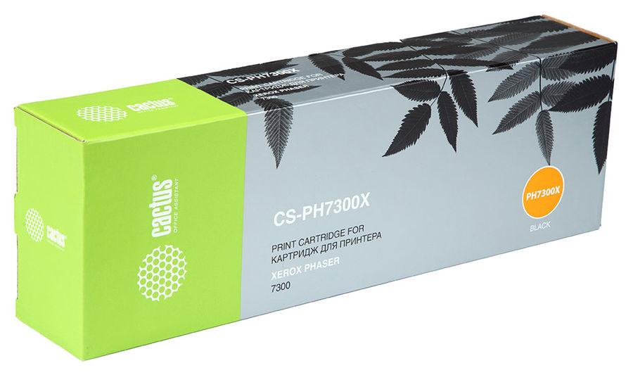 Картридж CACTUS CS-PH7300X черный