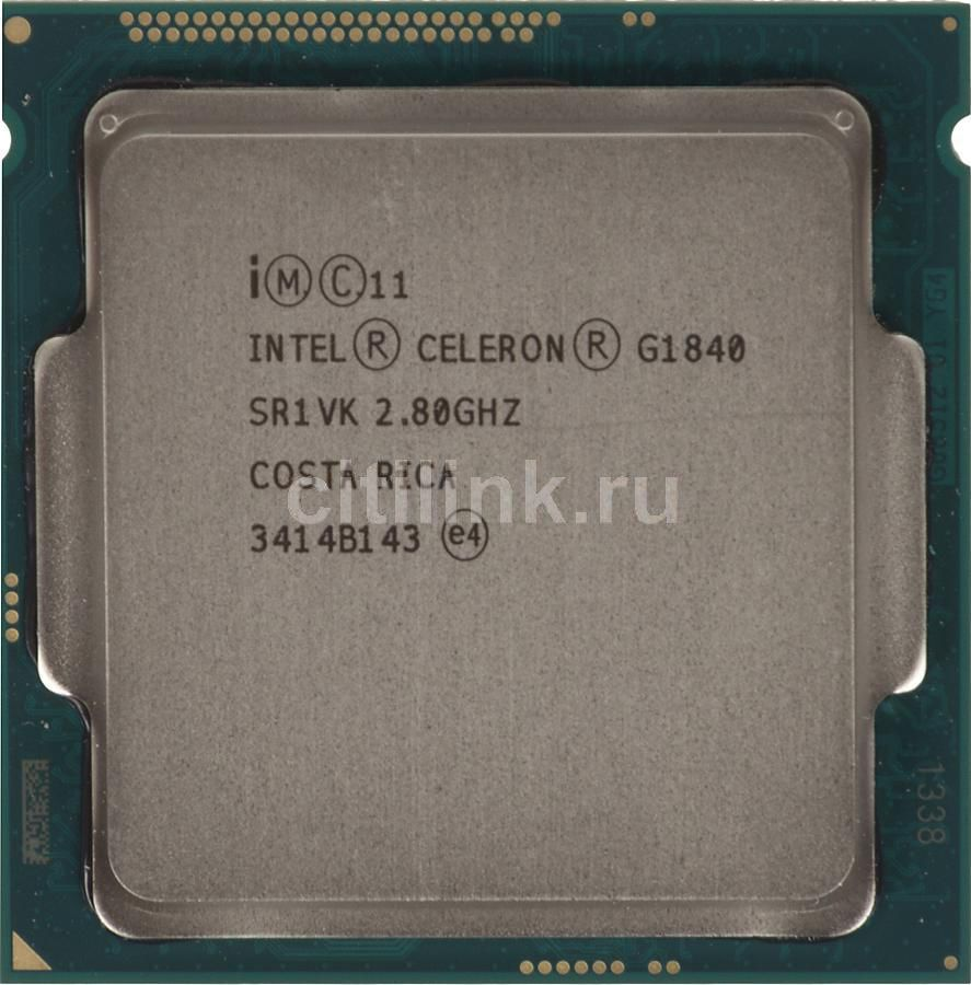 Процессор INTEL Celeron Dual-Core G1840, LGA 1150 OEM компьютер dell optiplex 5050 intel core i3 7100t ddr4 4гб 128гб ssd intel hd graphics 630 linux черный [5050 8208]