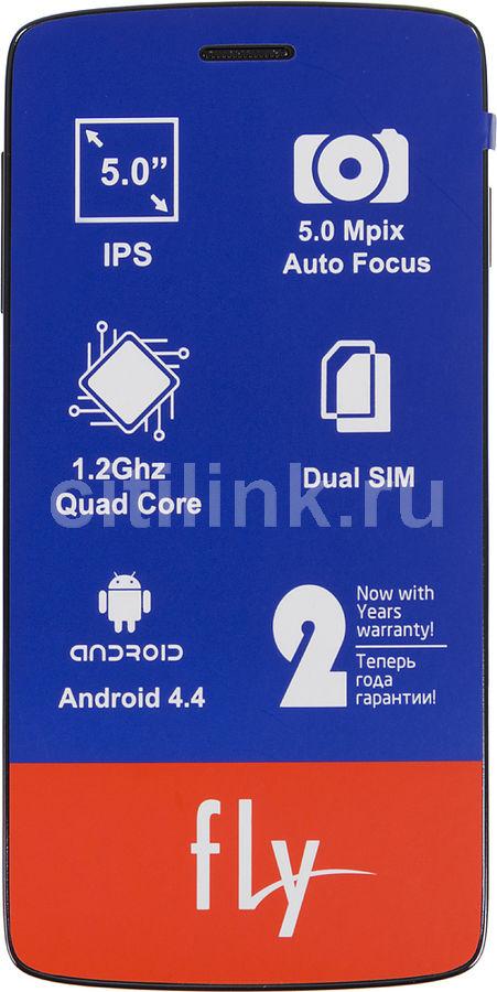 Смартфон FLY Era Life 6 Quad IQ4503  черный