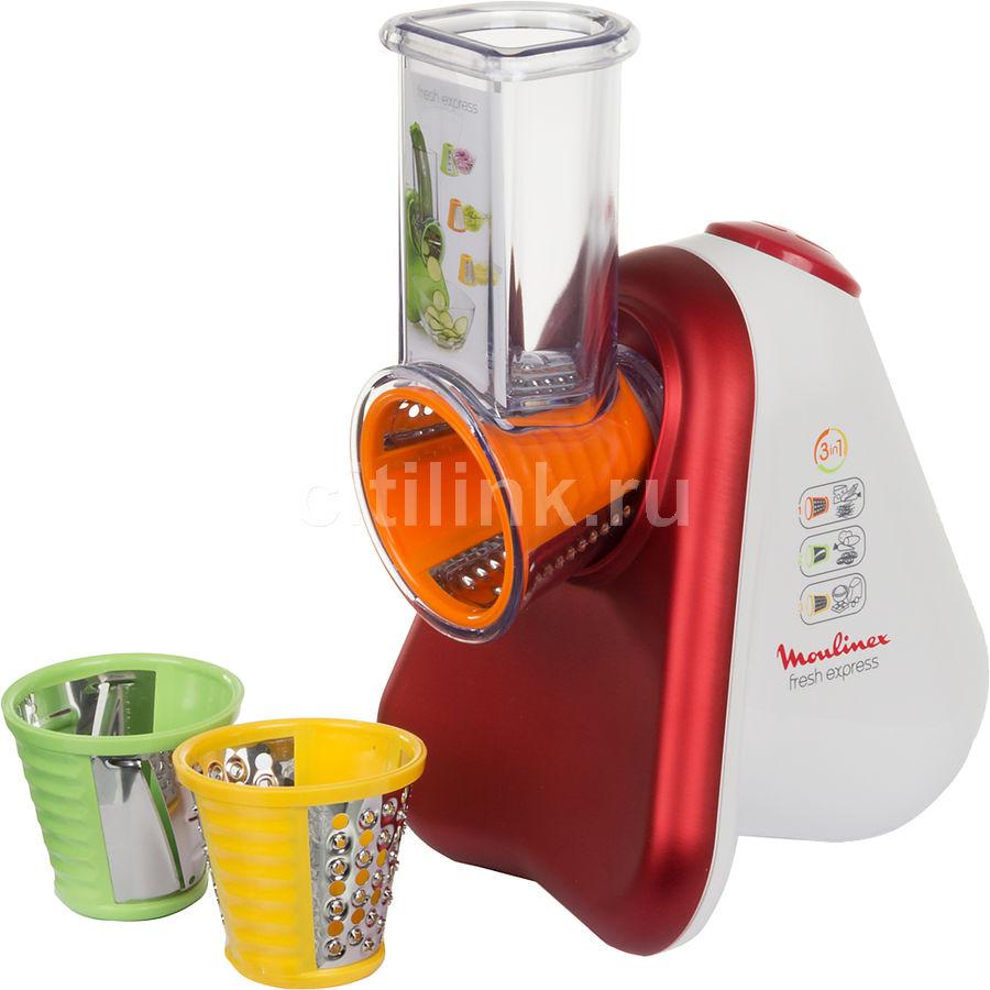 Измельчитель электрический Moulinex DJ753500 200Вт белый/красный [1500859368]