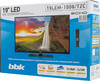 "LED телевизор BBK 19LEM-1006/T2C  ""R"", 19"", HD READY (720p),  черный вид 11"